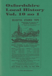 OLH journal vol 10, no 1, front cover